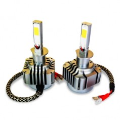 2pcs H1 40W 4000LM COB Car Vehicle LED Headlight
