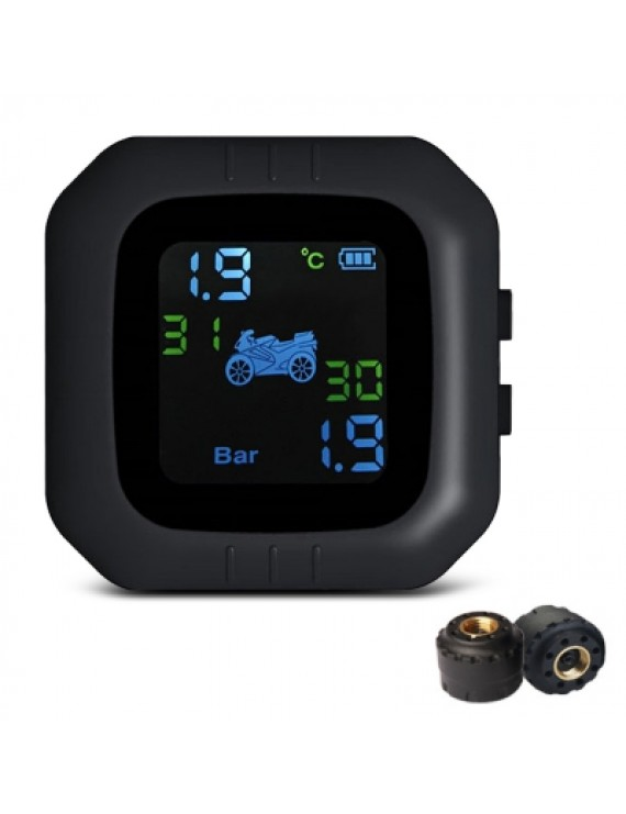 Tire Pressure Monitoring System for Motorcycle