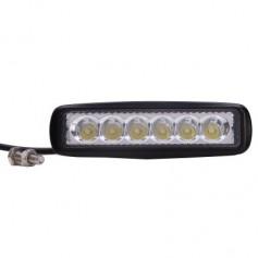 18W 1170lm White Light Spot Beam LED Car Modification Light