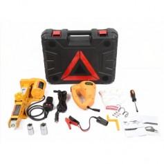 12V Car Electric Hydraulic Floor Jack Lifting Set