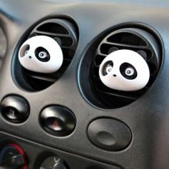 One Pair Panda Perfume Car Outlet