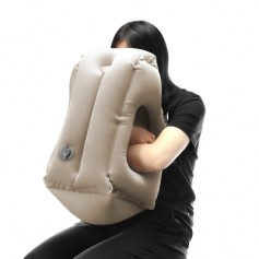 Frontal Travel Pillow Inflatable Air Bolster Comfortable Sleep  on Plane