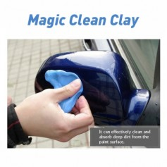 Magic Clean Clay Car Cleaning Mud Sludge Cleaning Volcano Mud 100g Multipurpose