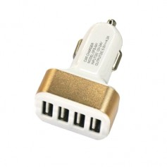 4USB 12-24V 4.2A Car Charger Mobile Fast Charge